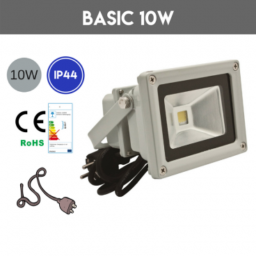 LED strålkastare 10W BASIC 4500K