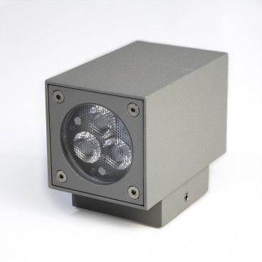 LED väggbelysning SQUARE 6x1W IP54