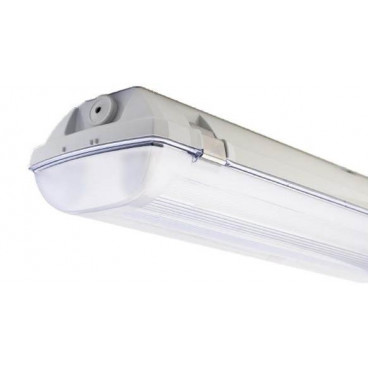 LED belysningsram IP44 1x1200mm