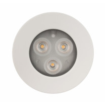 LEDSPOT downlight IP20 6,6/3,2W 280/480lm, dimmerfunktion, 350/700mA, vit ram