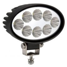 LED Arbetslampa OVAL 24W IP67 1250lm