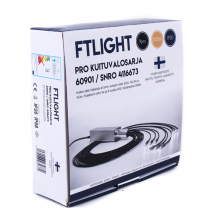 FTLIGHT LED fiberljus PRO 9-delad, ø1.5mm, 3x2m, 3x2.5m, 3x3m