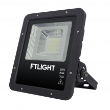 FTLIGHT WORK PLATINUM 50W LED strålkamstare, 6000lm, 4500K, 295x266x68mm