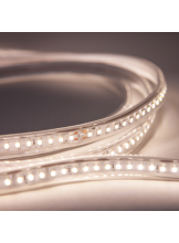 LED-strip FTLIGHT 230V 7W/m, 480lm/m, IP65, 4000K, 10 m, 1,5 m gummikabel med schukokontakt
